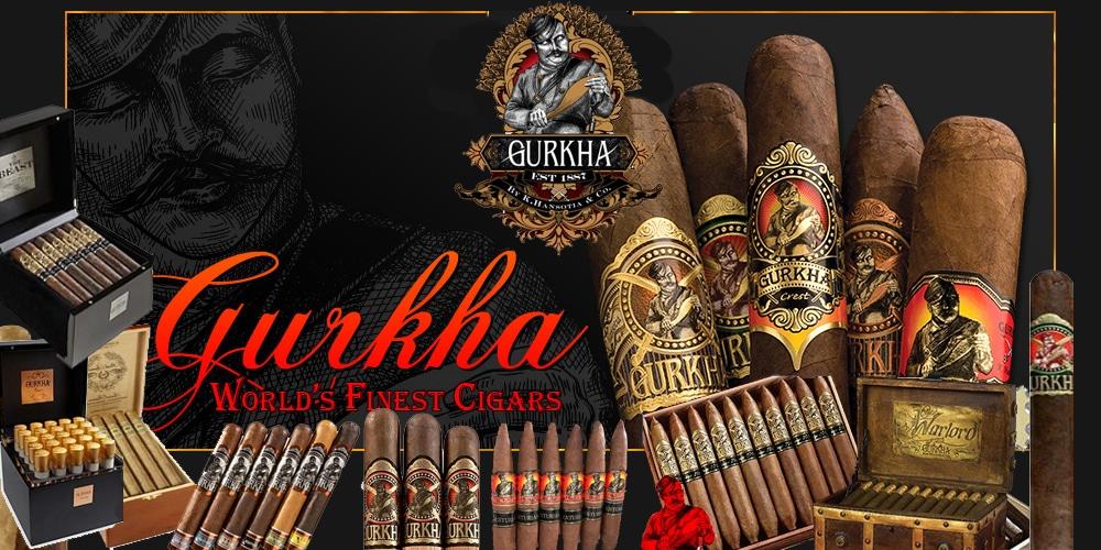 gurkha cigars history